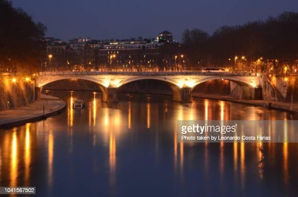bridge of hadrian - leonardo costa farias stock photos and pictures