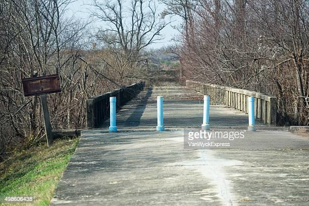 bridge of no return at jsa - panmunjom stock pictures, royalty-free photos & images