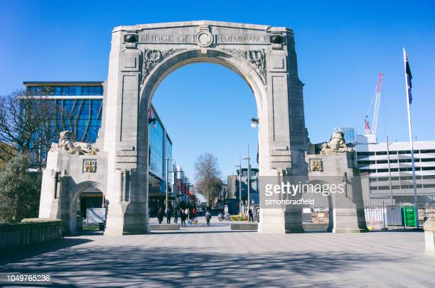 Bridge Of Remembrance Arch, Christchurch