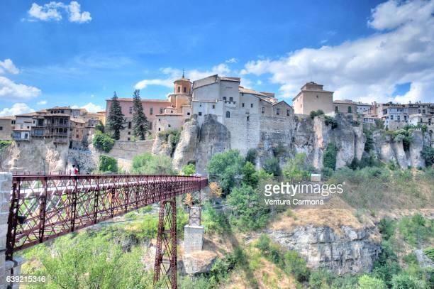 Bridge of Saint Paul (Puente de San Pablo) in Cuenca, Spain