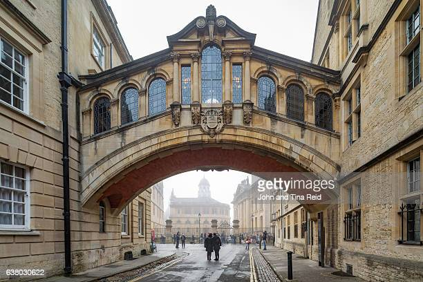 bridge of sighs - oxford england stock pictures, royalty-free photos & images