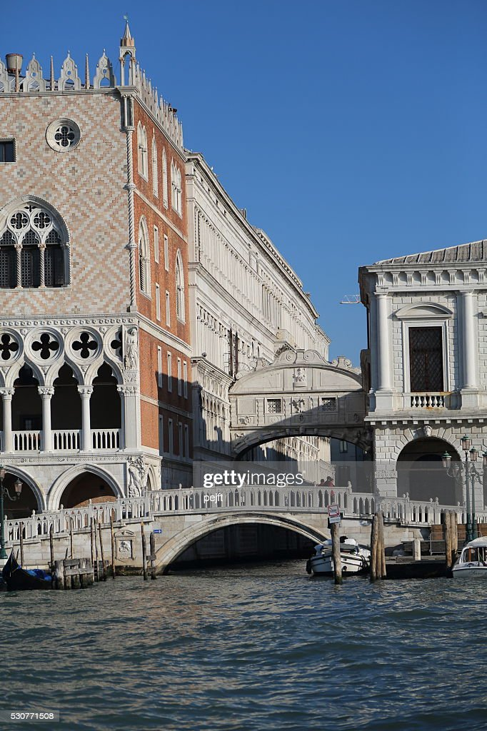 Bridge of Sighs, Venice Italy : Stock Photo