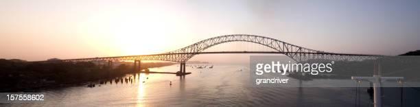 Bridge of the Americas Panama Pano