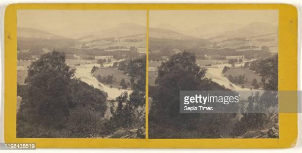 Bridge of Tilt and Glen Tilt James Valentine 1870s Albumen silver print
