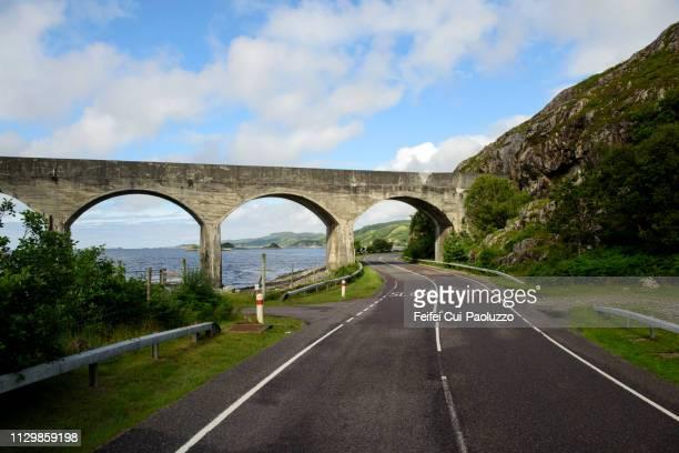 Bridge on A830 road near Lochailort, Scotland