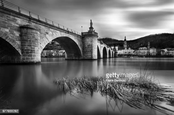 Bridge on Neckar river, Heidelberg, Germany