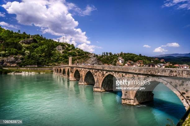 Bridge Over Drina In Visegrad, Bosnia and Herzegovina