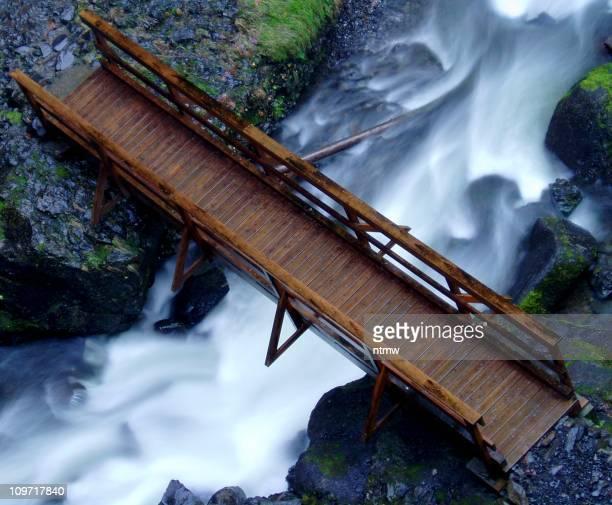 Bridge Over Elowah Falls