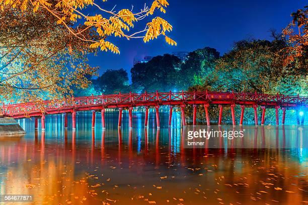 Bridge over Hoan Kien Lake