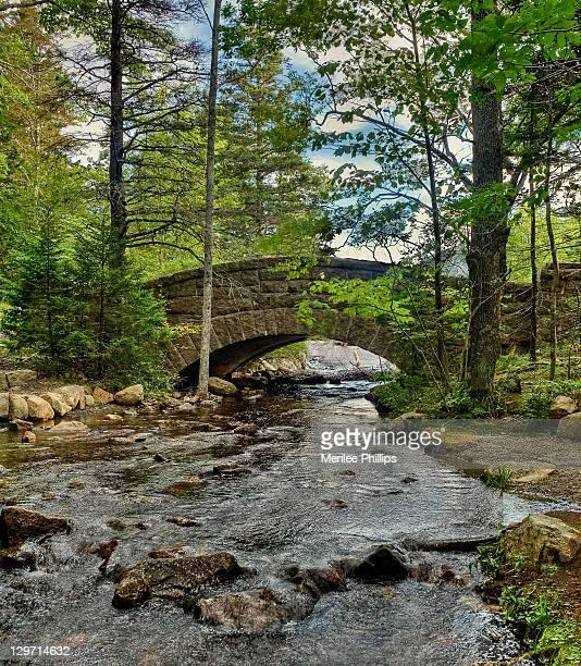 Bridge over jordan stream