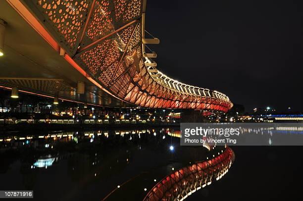 Bridge over Love River at Kaoshuing