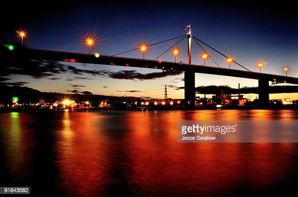 Bridge Over Orange Waters