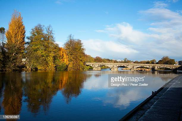 bridge over river blackwater - fermoy stock photos and pictures