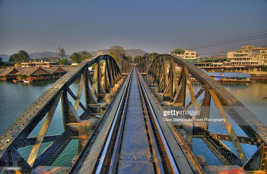 Bridge over River Kwai : Stock Photo