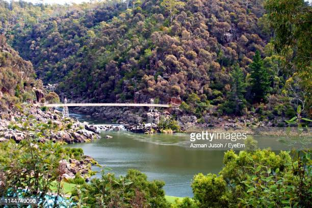 bridge over river - launceston australia stock pictures, royalty-free photos & images