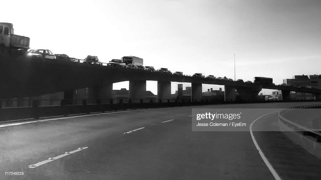 Bridge Over River : Stock Photo