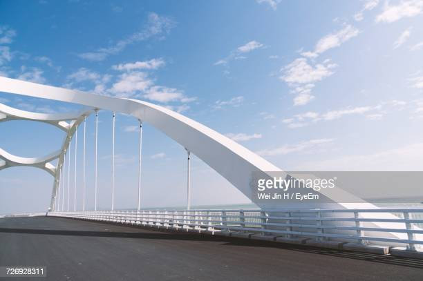 bridge over sea - suspension bridge stock photos and pictures