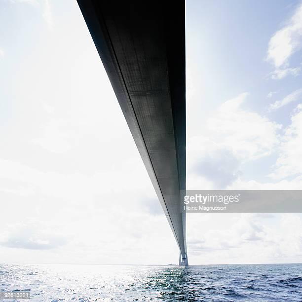 Bridge over sea water