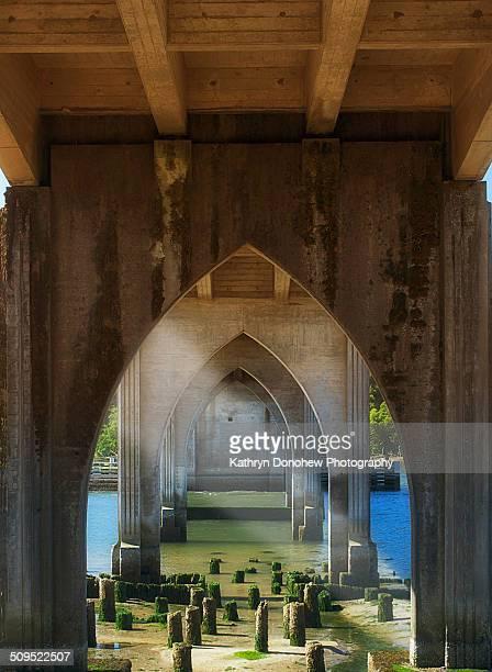 Bridge over Siuslaw River Oregon