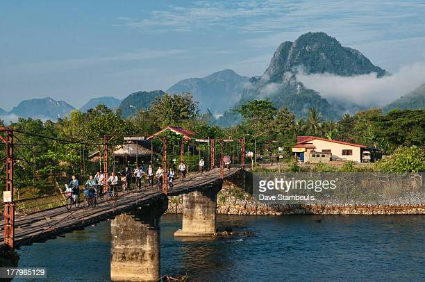 CONTENT] bridge over the Nam Song River in Vang Vieng Laos