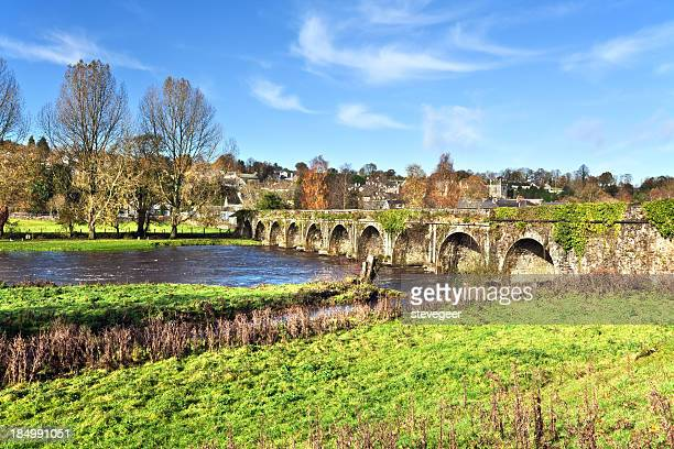 Bridge over the River Nore at  Inistioge in Ireland
