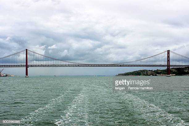 Bridge over the river Tagus, Lisbon