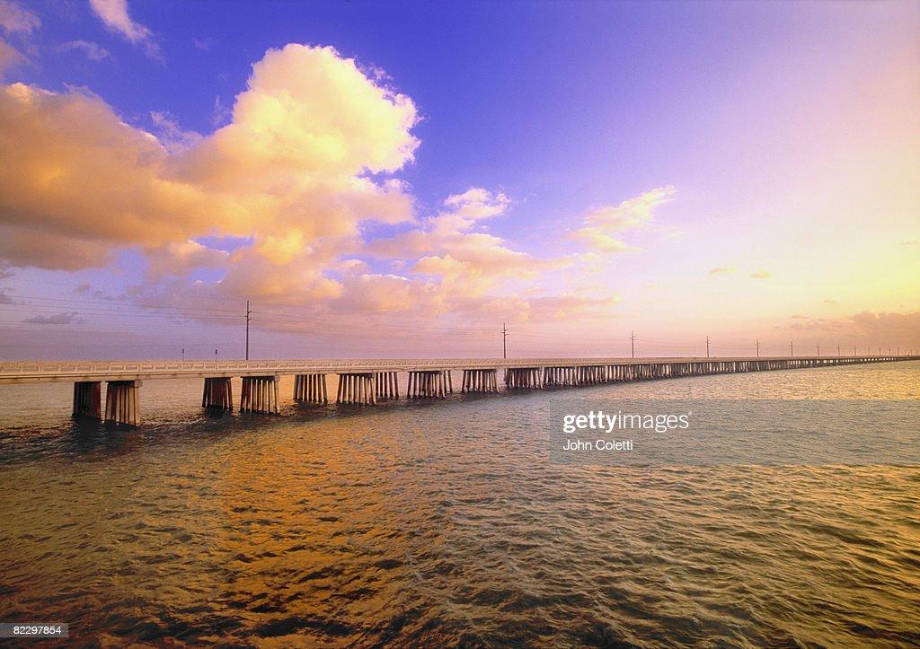 Bridge over water at : Stock Photo