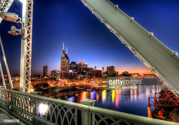 bridge - nashville stock pictures, royalty-free photos & images