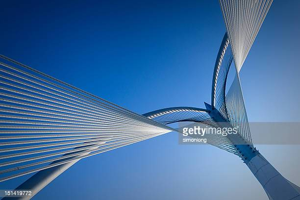 bridge - putrajaya stock photos and pictures
