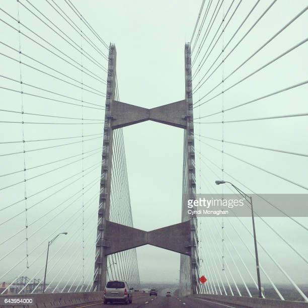 bridge - jacksonville florida stock pictures, royalty-free photos & images