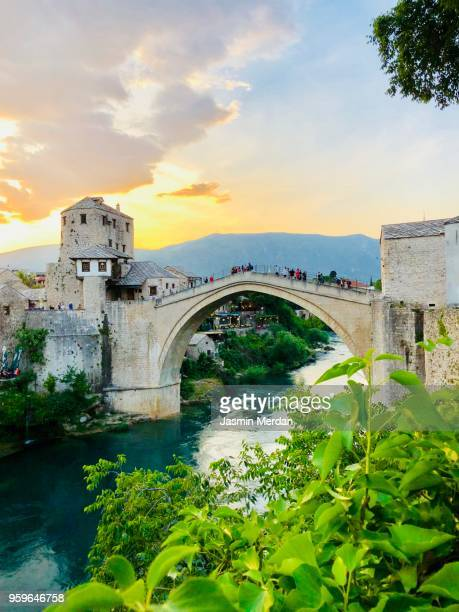 bridge - sarajevo stock pictures, royalty-free photos & images