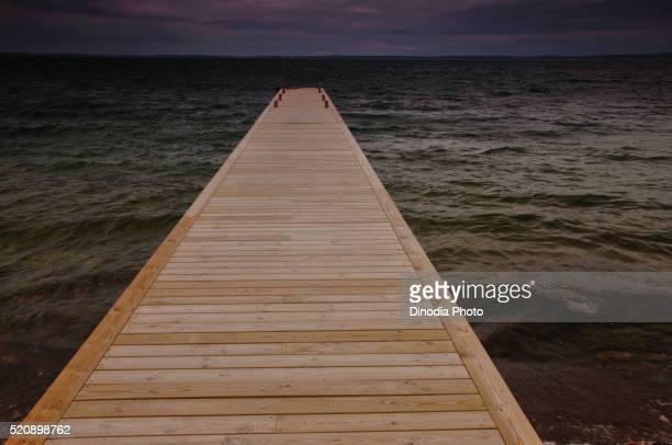 Bridge Sandhamn, Archipelago, Sweden