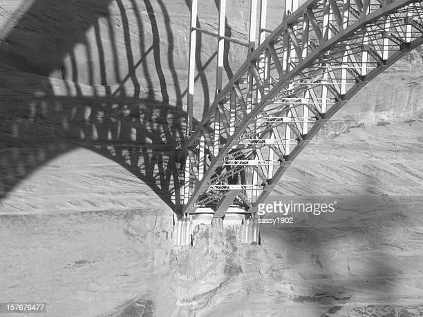 Brücke Stahlträger Shadow