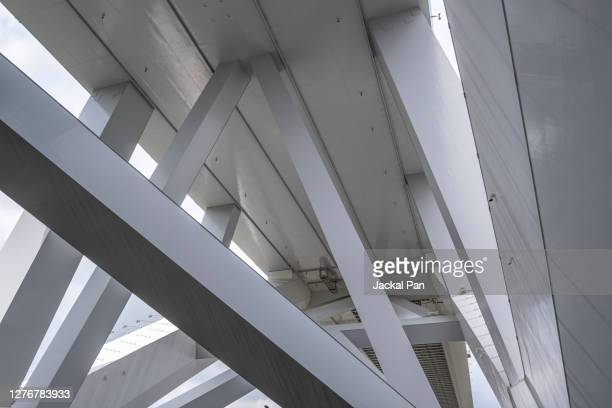 bridge structure - transport stock pictures, royalty-free photos & images