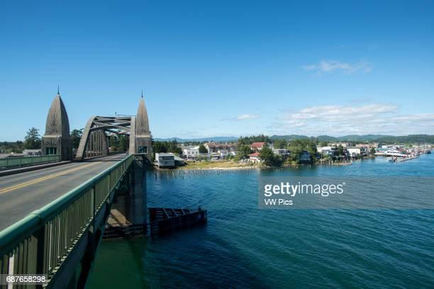 Bridge to Florence Oregon Coast USA