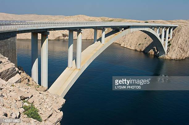 Bridge to island Pag