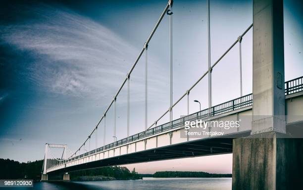 bridge to the past - teemu tretjakov stock pictures, royalty-free photos & images