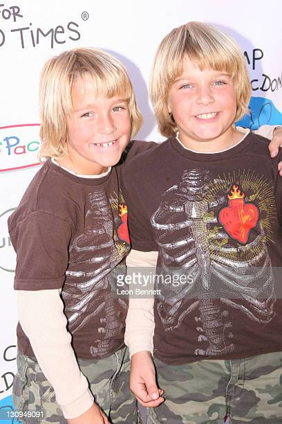 Bridger and Brecken Palmer during Camp Ronald McDonald for Good Times – 14th Annual Halloween Carnival at Universal Studios Backlot in Universal City...
