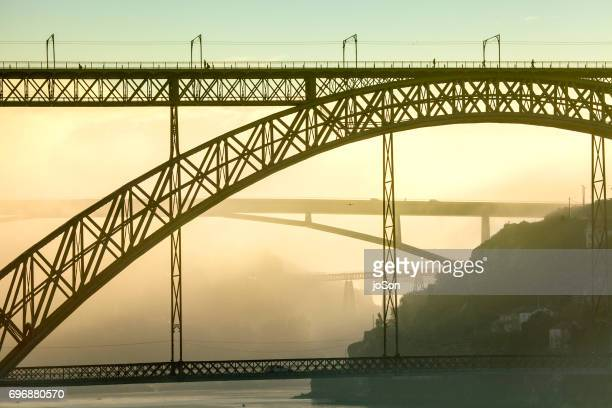 Bridges acroos Douro river, Dom Luis I bridge