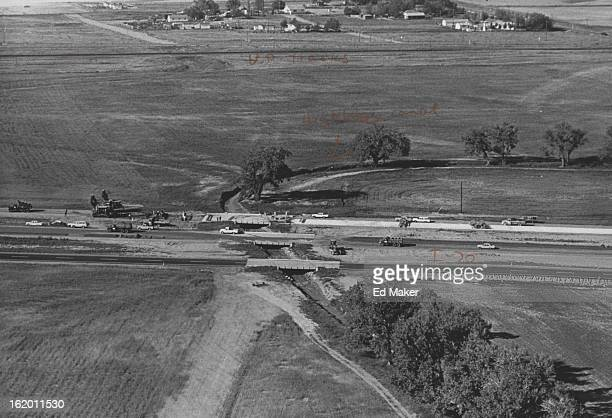 JUL 6 1965 781965 Bridges and Interstate 70 where it crosses Highlive Canal