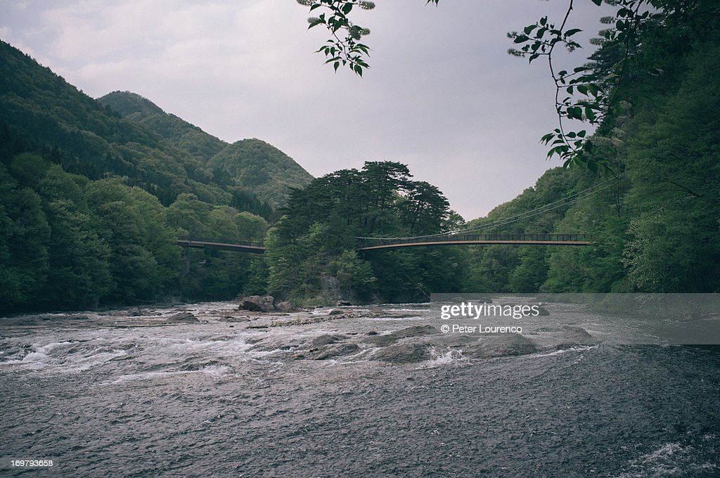 2 bridges leading to the Floating island : Photo