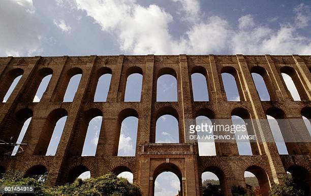 Bridges of the Valley or Carolino aqueduct 17531759 architect Luigi Vanvitelli Valle di Maddaloni Campania Italy 18th century