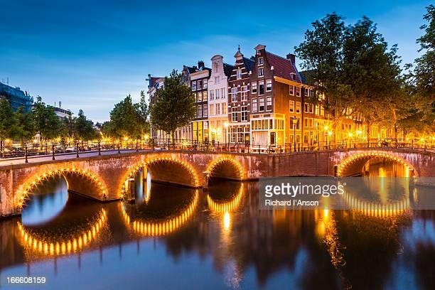 Bridges over Leidsegracht & Keizersgracht Canals