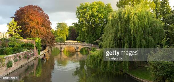 Bridges over the river cam, Cambridge, UK