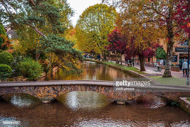 Bridges over the river Windrush in the Cotswolds