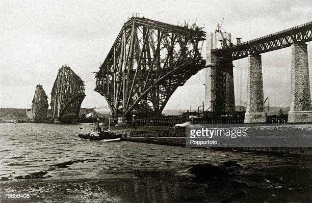 1880's The Firth of Forth Bridge under construction This bridge carried the railway from South Queensferry to North Queensferry was built mainly of...