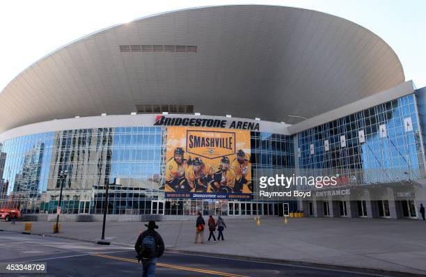 Bridgestone Arena in Nashville Tennessee on NOVEMBER 24 2013