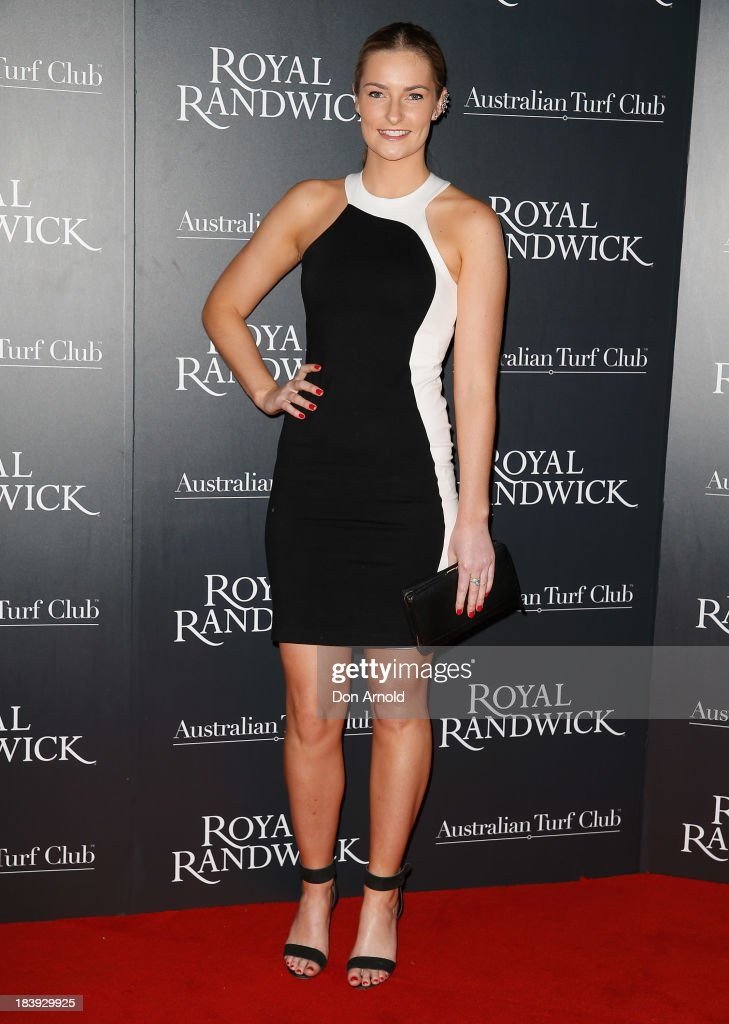 Bridget Abbott attends the Gala Launch event to celebrate the new Australian Turf Club Grandstand at Royal Randwick Racecourse on October 10, 2013 in Sydney, Australia.