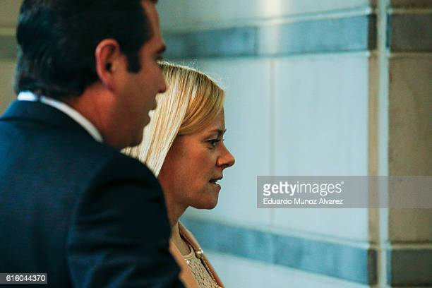 Bridget Anne Kelly former deputy chief of staff to New Jersey Gov Chris Christie arrives to testify in the Bridgegate trial at the Martin Luther King...