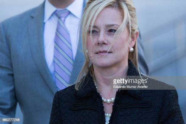 Bridget Anne Kelly former deputy chief of staff to New Jersey Gov Chris Christie exits the Martin Luther King Jr Federal Courthouse following her...